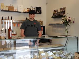 Det första ställen Gunilla Blixt besökte var ostbutiken Dr Käse.