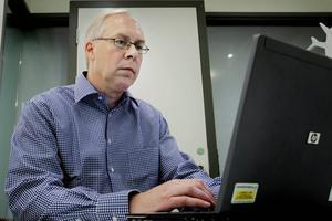 Lars-Olof Jonsson, Försäkringskassans IT-avdelning i Sundsvall.