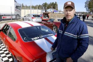 Kenneth Berglund har denna Cheva tillsammans med sin bror Thomas. De turas om att köra.