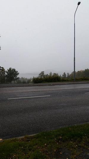 Camilla Asplund tog den här bilden. frösön skymtar i bakgrunden.