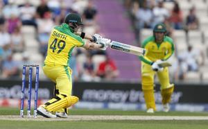 Cricket, en av Tobias Bernanders favoritsysselsättningar.