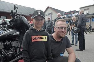Oskar och Erik Trygg från Remmen var två av dagens besökare.