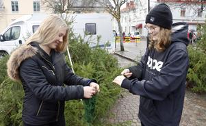 Maja Magnusson och Emyeli Erixon.