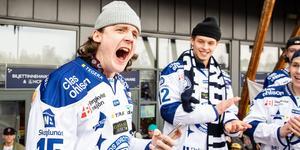Johan Porsberger vill stanna i Leksand. Bild: Daniel Eriksson/Bildbyrån
