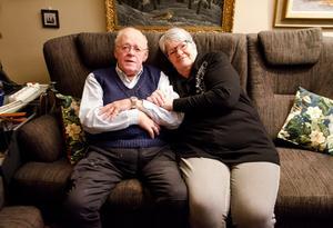Åke och Margareta har varit tillsammans i över 62 år.
