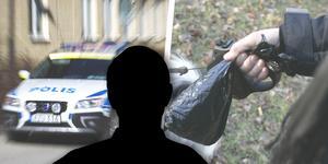Kvinnan ska ha attackerats under en nattlig hundpromenad, av en för henne okänd man, enligt åklagare. Personen på bilden har inget med innehållet i artikeln att göra. Foto: arkiv/kollage