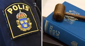 Poliser bör inte uttala sig hur som helst. Foto: Johan Nilsson/TT och Henrik Montgomery/TT