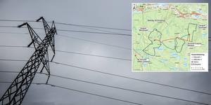 Ellevio har påbörjat projekteringen för en kraftledning mellan Klevberget och Björnberget, och som i sin sträckning även tangerar gränsen för projketet på Storåsen. Bild: Christian Larsen/Ellevio