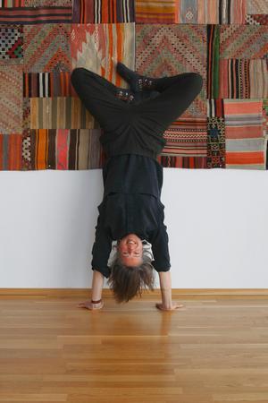 – Mitt jobb handlade mycket om dator, event och organisation. Jag kände att jag ville jobba mer med kroppen, säger Fabienne Theiler.