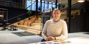 Thomas de Ming på Södertälje science park vill fylla entréhallen med spännande samtal på tech stalks varannan onsdag.