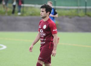 Det blev 17 matcher i fyran med Bollnäs Kurd senaste säsongen – men inget nytt målrekord.