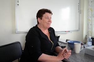 Lilian Olsson hoppas att socialdemokraterna i Malung-Sälen ska få 20 mandat och egen majoritet i kommunfullmäktige.