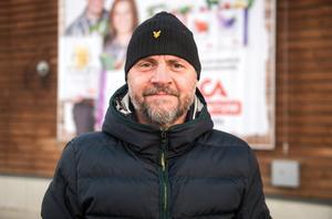 Mats Åberg, slöjdlärare,  53 år, Essvik.