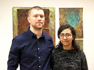 John Risberg och Ghada Zaky laddar upp med massor av konst inför jul.