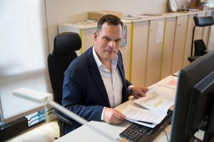 """""""I Vasa vill vi samla betydligt mer idrott, så att det blir ett område som lever en större del av dygnet"""" säger Andreas Klingström, planchef."""