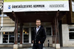 Kommundirektör Magnus Haglund.
