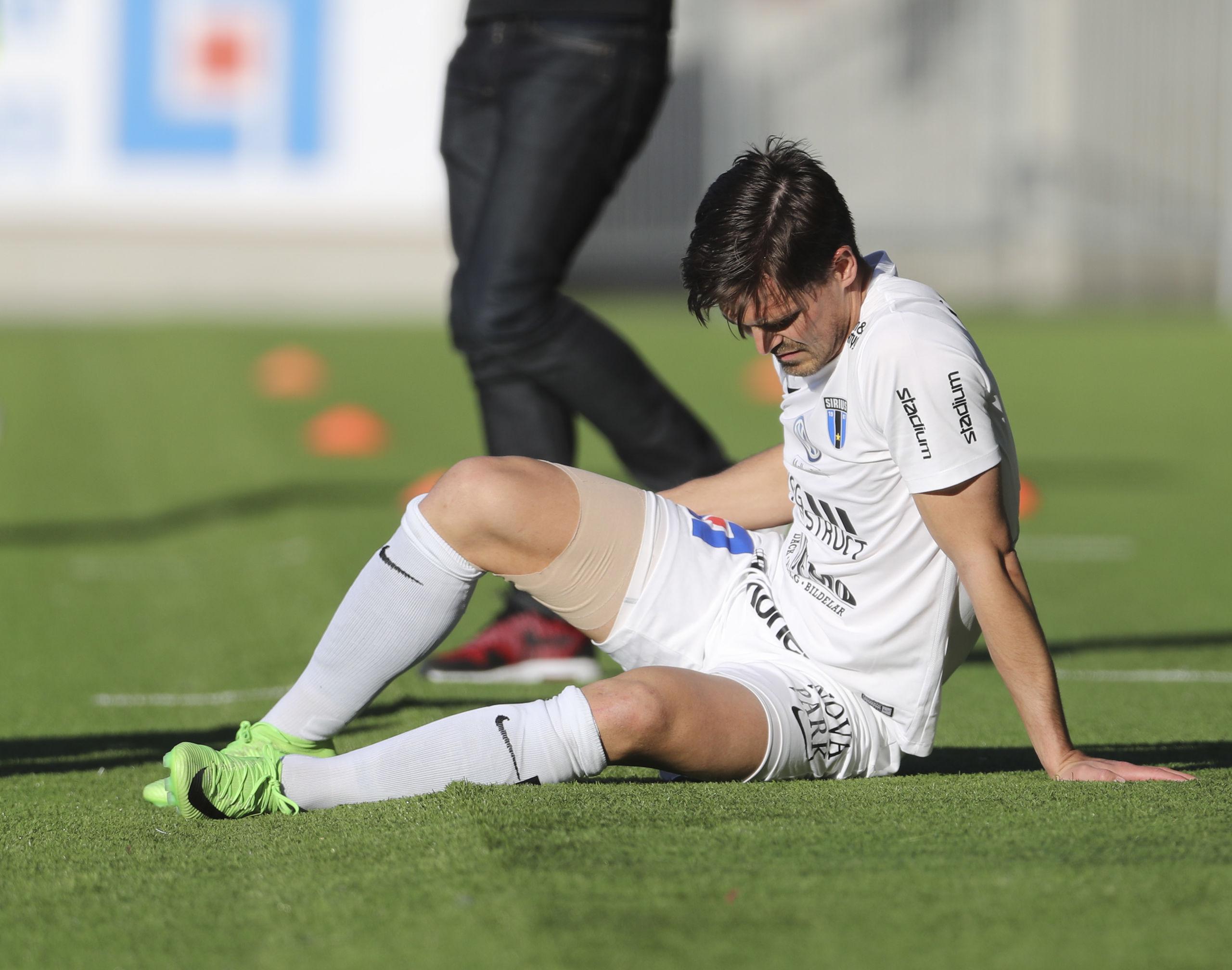 Lindgren skadad missar match