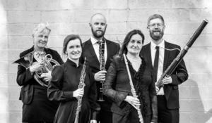 Nordiska Blåsarkvintetten ger lunchkonsert den  20/2. Bild: Lia Jacobi