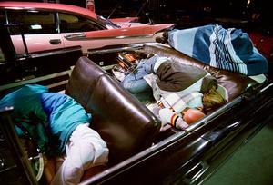 Bilen - sängplats som inte behöver förbokas. FOTO: TONY PERSSON/ARKIV