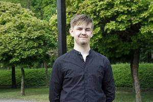 Lucas Lantz vill bli lärare – precis som sina föräldrar.