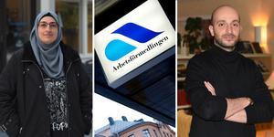 Tammam Gharib och Baha Baghdadi två av dem som har extratjänster i Örnsköldsvik.