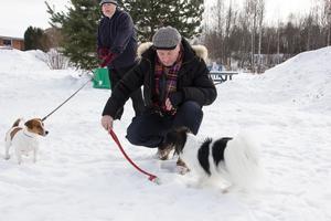Jan-Erik Granberg fick sitt tidigare medborgarförslag avslaget. Men han ger sig inte. Han vill att en hundpark anläggs på Gamla Karlbo IP