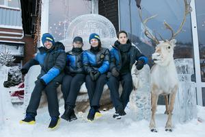 Slopestylestjärnorna Henrik Harlaut, Jennie-Lee Burmansson,  Emma Dahlström och Jesper Tjäder är några av landslagsåkarna som förbereder sig inför Sydkorea i  Åre.
