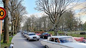 Bilden togs vid spontancruisingen som skedde i våras i Falköping. Foto: Läsarbild