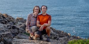 """När LT får tag i Kerstin och Eyal befinner de sig på Mallorca. """"Det är en bra ö för vandring under vinterhalvåret. Det är lagom varmt och väldigt vackert"""", säger Kerstin"""