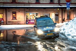 Taxibolagen har fått jobba extra hårt i vinter.