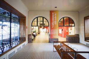 Centralstationen i Gävle. Arkivbild