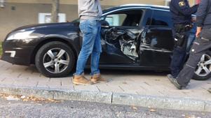 Ingen person kom till fysisk skada i samband med olyckan.