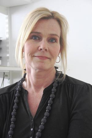 Petra Jonsson, bibliotekschef i Gävle kommun. Foto: Marie-Louise Andersen
