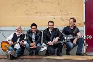 Millbooze medlemmar från vänster Marko Taivanen, Dedwin Gonzalez, Mikael Andersson och Ilkka Luukas.