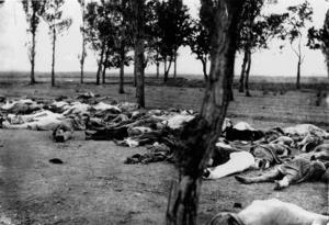 Mördade armenier 1915. Foto: Henry Morgenthau