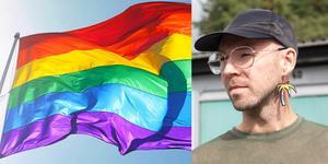 """""""Som hbtqia-personer måste vi anpassa oss till andra varje dag. Nu tvingas vi också anpassa oss i det enda forum som ska vara till för oss"""", säger Shaun Walls som inte längre känner sig välkommen på Fagersta Pride."""