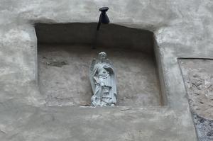 Exteriör från S:t Mikaelskyrkan i Tallinn.
