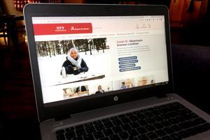 Allt mer av vårdkontakterna sker digitalt, som genom tjänsten 1177.