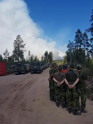– Många återgår till sina ordinarie jobb, efter att ha slitit från fredag till tisdag morgon, säger major Peter Lasén efter att bataljonen blivit avlöst.