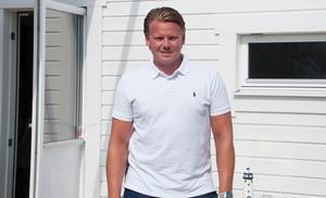 Joakim Hedberg har varit med på hela Söråkers resa, från botten till toppen.