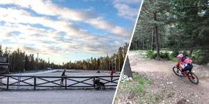 Sundsvalls kommun vill locka cykelturister till Södra berget.