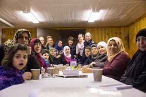 Det var oväntat många mötesdeltagare i den gamla scoutlokalen i Krylbo.