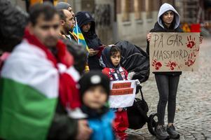 Manifestationen hölls på flera olika platser i Sverige.