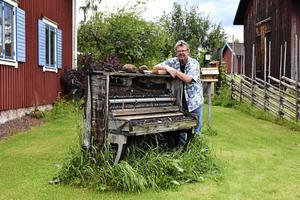 Olle Nyberg flyttade till Sollerön när han fann kärleken.