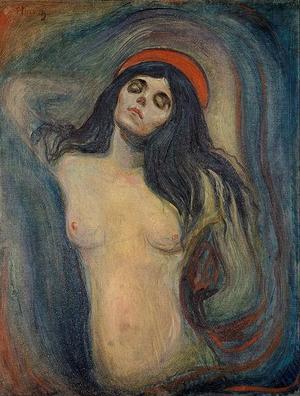 Edvard Munchs oljemålning