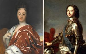 Drottning Ulrika Eleonora styrde Sverige  när rysshärjningarna drabbade östkusten 1719. På andra sidan Östersjön beordrade ryske tsar Peter anfallet.