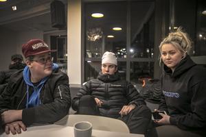 Anton, Kristian och Ronja.