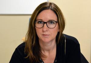 Frida Maistedt, socionom i skolans närvaroteam i Sundsvall.