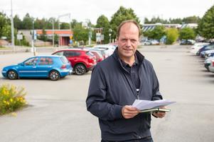 John-Erik Jansson (C) är kommunalråd i Söderhamn.