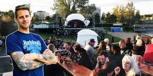 Andree Lundh ser fram emot ännu en sommar med rock and roll.